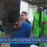 Chiclayo : Suboficial de la policía detenido por robo de autopartes