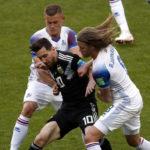 Argentina empató 1-1 frente a Islandia y Lionel Messi se falló un penal