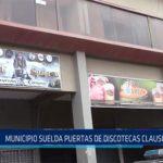 Chiclayo: Municipio suelda puertas de discotecas clausuradas