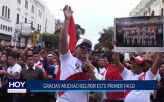 Chiclayo: Gracias muchachos por este primer paso