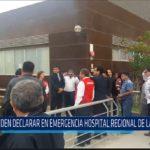 Chiclayo: Piden declarar en emergencia hospital regional de Lambayeque
