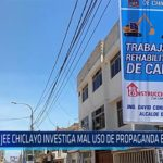 Chiclayo: JEE Chiclayo investigan mal uso de propaganda estatal