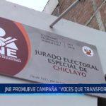 """Chiclayo: JNE promueve campaña """"Voces que transforman"""""""