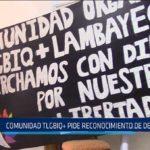 Chiclayo: Comunidad TLGBIQ+ pide reconocimiento de derechos