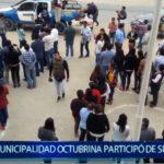 Piura: Municipalidad octubrina participó de simulacro