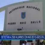 Chiclayo: Detectan 2500 alumnos con más de 10 años en la UNPRG