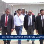 Chiclayo: Colegio San José tiene déficit para mantenimiento