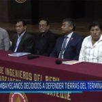 Chiclayo: Lambayecanos decididos a defender tierras del Terminal Portuario