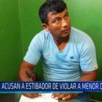 Chiclayo: Acusan a estibador de violar a menor de edad