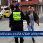 Chimbote: Intervienen a joven por agredir a su pareja