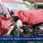 Piura: Accidente de tránsito deja a un bebé fallecido