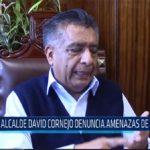 Chiclayo: Alcalde David Cornejo denuncia amenazas de muerte