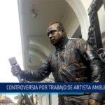 Chiclayo: Controversia por trabajo de artista ambulante