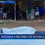 Trujillo: Asesinan a mécanico de dos balazos