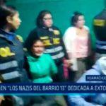 """La Libertad: Caen """"Los Nazis del Barrio"""" dedicada a extorsionar"""
