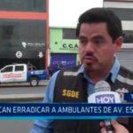 Buscan erradicar a ambulantes de avenida España
