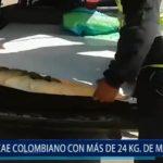 Piura: Cae colombiano con más de 24 Kg de marihuana