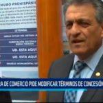 Cámara de Comercio pide modificar términos de concesión de puerto
