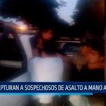 Trujillo: Capturan a sospechosos de asalto a mano armada
