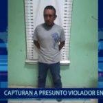 Piura: Capturan a presunto violador en Paita