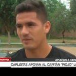 "Carlistas apoyan al capitán ""piojo"" López"