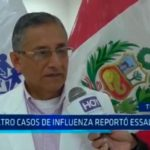 Trujillo: Cuatro casos de influenza reportó EsSalud