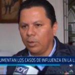A 46 aumentan los casos de influenza en La Libertad