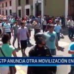 CGTP anuncia otra movilización en julio