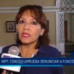 MPT: Consejo aprueba denunciar a funcionarios