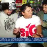 """Chiclayo: Desarticulan organización criminal """"Los Malditos del Cono Sur"""""""