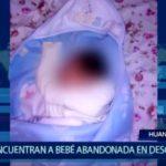 Piura: Encuentran a bebé abandonado en descampado
