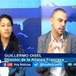 """Chiclayo: Conversamos con Guillermo Oisel, director de la Alianza Francesa y Melissa Torres  Coordinadora del colectivo """"Peatón Cix"""""""