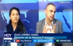 """#Chiclayo: Conversamos con Guillermo Oisel, director de la Alianza Francesa y Melissa Torres  Coordinadora del colectivo """"Peatón Cix"""""""