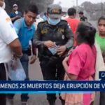 Guatemala: Al menos 25 muertos deja erupción de volcán