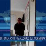 Chiclayo: Detienen a sujetos acusados de extorsionar en obra