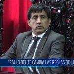 """Chiclayo: """"Fallo del TC cambia las reglas de juego"""""""