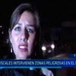 Diecisiete fiscales intervienen zonas peligrosas en El Porvenir