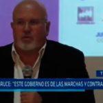 """Carlos Bruce: """"Este cargo es de las marchas y contramarchas"""""""