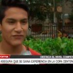 Godoy asegura que se gana experiencia en la Copa Centenario