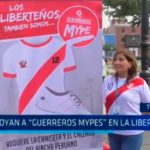 "Apoyan a ""Guerreros Mypes"" en La Libertad"