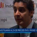 Trujillo: Investigarán alza de precios en el pasaje urbano