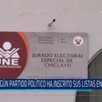 Chiclayo: Ningún partido político ha inscrito a sus listas en JEE – Chiclayo