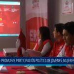 JNE: Promueve participación política de jovenes, mujeres e indígenas