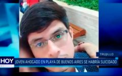 Joven ahogado en playa de Buenos Aires se habría suicidado