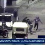 Piura: Delincuentes dejan herido a joven universitario