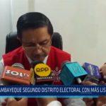 Chiclayo: Lambayeque segundo distrito electoral con más listas inscritas