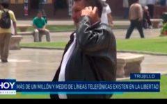 Más de un millón de líneas telefónicas existen en La Libertad