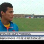Lozano destaca el nivel de la Sub 17 de la UCV