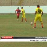 Segunda Profesional: Carlos A. Mannucci venció 3 -1 a Santa Rosa