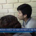 Chiclayo: Condenan a Marco y sus padres por muerte de niña tras aborto